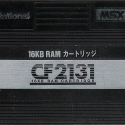 16Kb RAM Extension Cartridge (Casio)