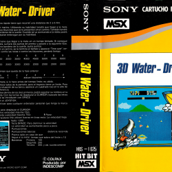 3D Water Driver (Apollo Technica, 1984)