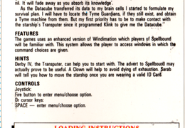 Knight Tyme (Normal) Instrucciones 01