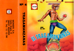 MSX Software Nº4 Tragamanzanas (Normal) Carátula