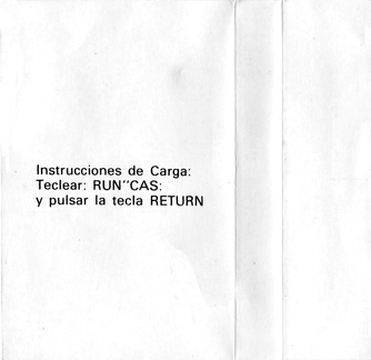 MSX Software Nº4 Tragamanzanas (Normal) Instrucciones