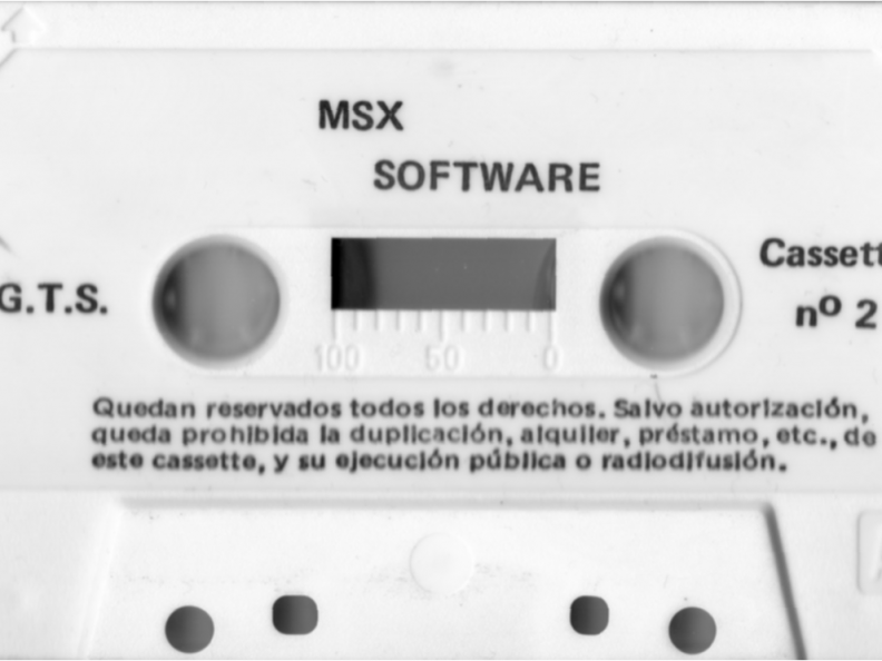 MSX Software Nº2 Cara A