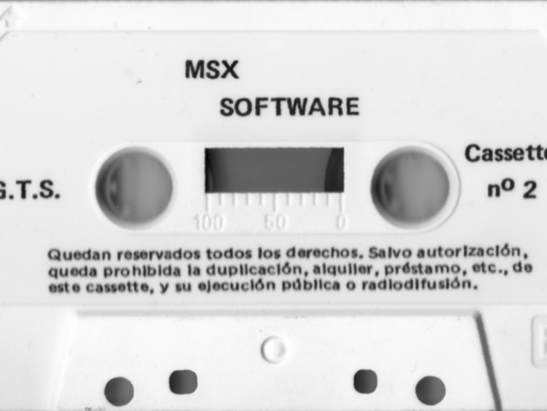 MSX Software Nº2 Cara B