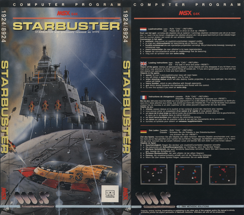 Starbuster - Cover - Box