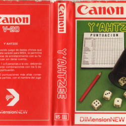 Y'ahtzee (DIMension New, 1985)